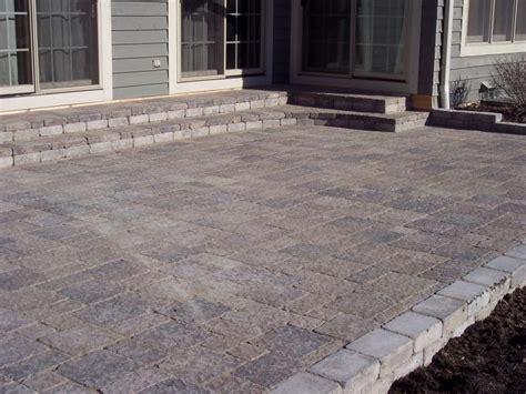 Block Patio Designs Easy Ways To Build A Stone Block Patio Garden Guides