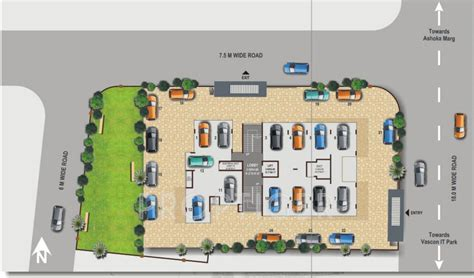 layout plan nashik saturn east avenue in indira nagar nashik price