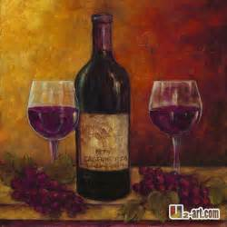 Wine And Grapes Decor Shop Popular Painting Wine Bottles From China Aliexpress
