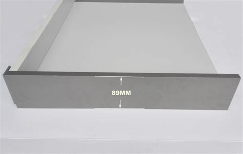 Slimline Drawer Slides by 89mm Iron Slim Drawer Box System Cubist Drawer Box System
