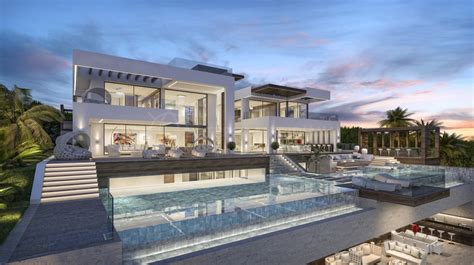 brand new designer villas built to order costa blanca spain new build luxury modern villa for sale private pool