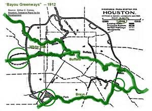 the bayou city seeks to link three hundred of trails
