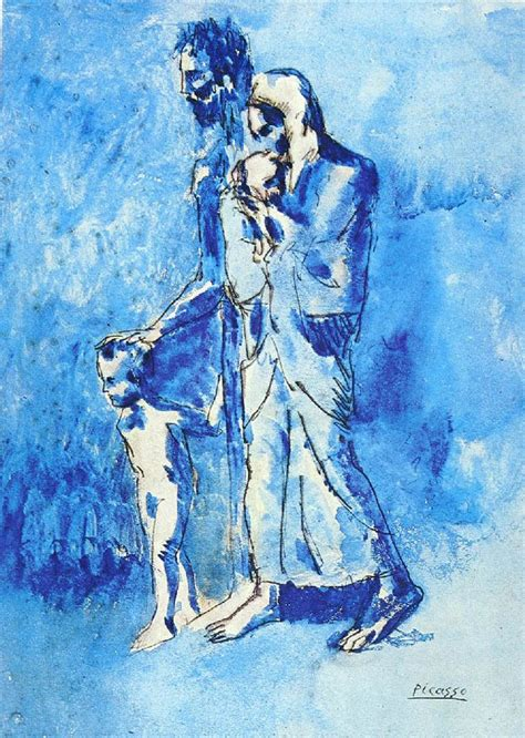 picasso paintings boy and 25 best ideas about picasso blue period on