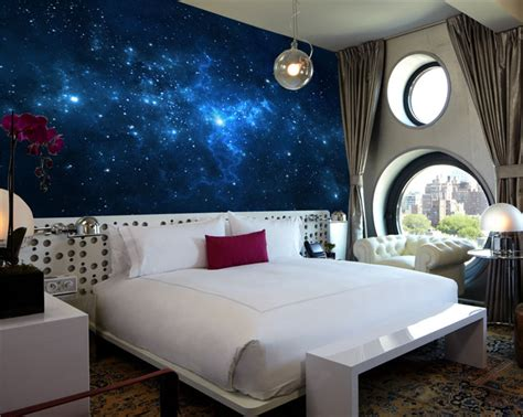 galaxy bedroom paint wallpaper custom picture more detailed picture about blue galaxy wall mural