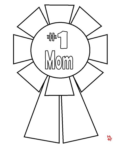 free 1 mom coloring pages