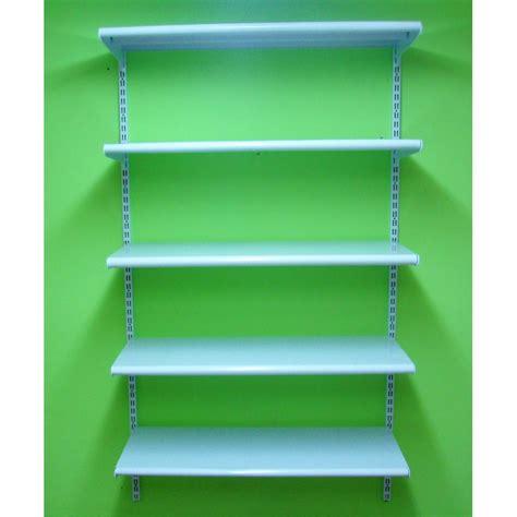 estantes para pared estanter 205 a met 193 lica cremallera pared 5 estantes