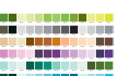 pantone color search green pantone color chart images search