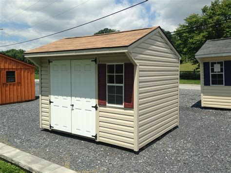vinyl quaker storage shed  sale