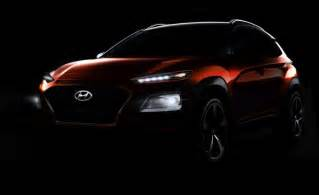this is the new hyundai kona crossover news car and