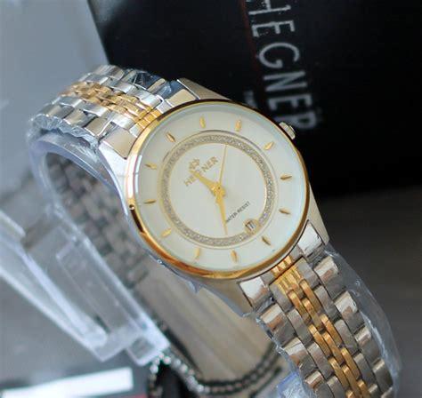 Jam Tangan Hegner Hw 418 Silver White Original buy original 100 hegner jam tangan hegner wanita