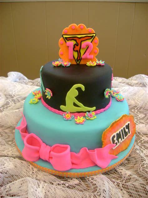 gymnastics cake cakecentral