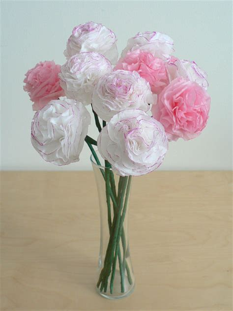 How To Make Paper Carnations - planetjune by june gilbank 187 tissue paper carnations