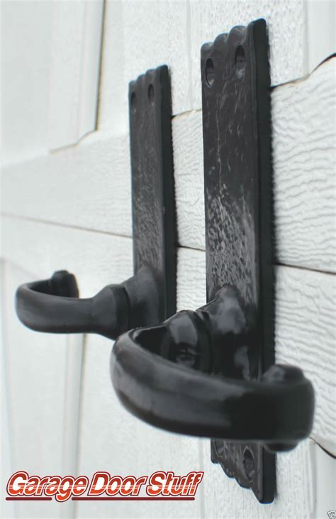 carriage house garage door decorative hardware