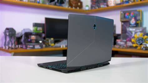 alienware m15 rtx gaming laptop review techspot