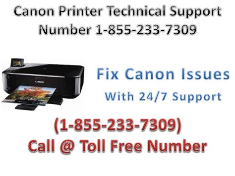 canon printer customer support phone number canon printer customer service number 1 855 233 7309
