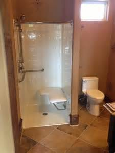 Houzz Bathroom Design handicapped accessible shower houzz