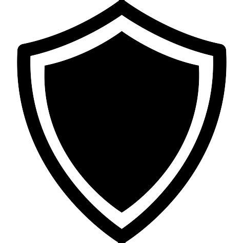 imagenes blanco y negro editar escudo en variante con bordes en blanco y negro iconos
