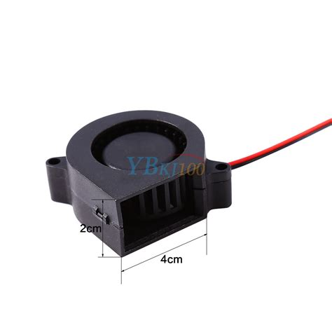fan blowing air dc12v 40mm 4500rpm brushless fan air blower blow