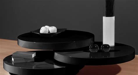 siyah cam kapl rayl orta sehpa modeli modern yuvarlak orta sehpa modelleri 2015 dekorstyle