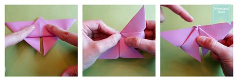 How To Fold Paper Butterfly - craftionary