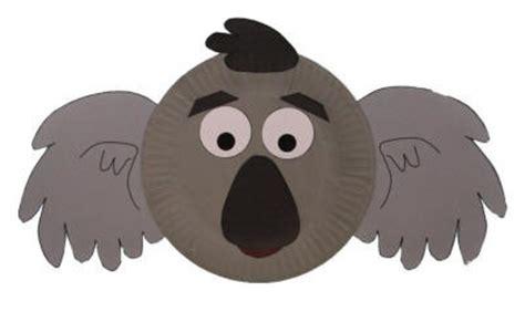 koala paper plate craft paper plate koala craft