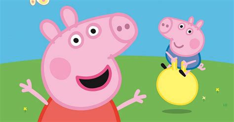 peppa pig george and peppa pig and george come to basingstoke for easter meet and greet get reading
