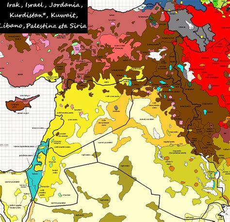 middle east map languages language asylum research