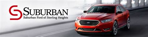 Suburban Ford Of Sterling Heights by Suburban Ford Of Sterling Heights Mi Coupons To Saveon