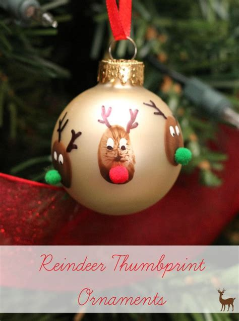 33 handmade ornaments for onecreativemommy