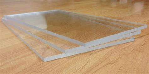 clear plastic sheet for table top cut to size perspex acrylic plexiglas 174 sheets