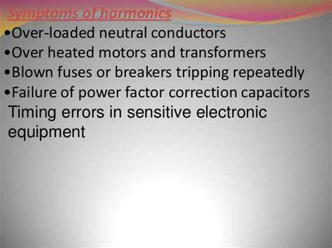 effects of harmonics on power factor correction capacitors harmonic mitigating transformer