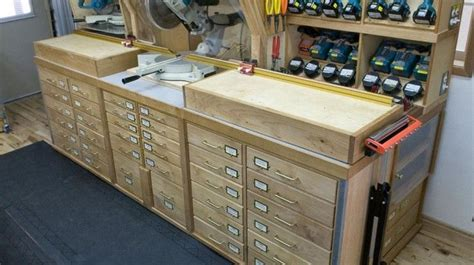 how to set up a woodworking shop in the garage miter saw setup woodshop plans resources