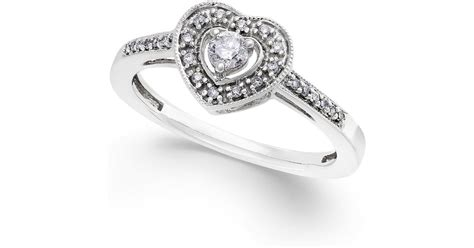 macy s promise ring in sterling silver 1 5