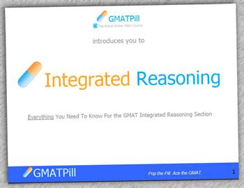 integrated reasoning section gmat integrated reasoning book ebook by gmat pill the