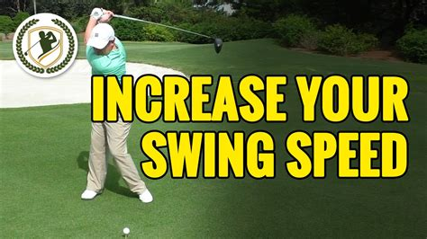 how to determine golf swing speed how to increase your golf swing speed add more clubhead speed youtube