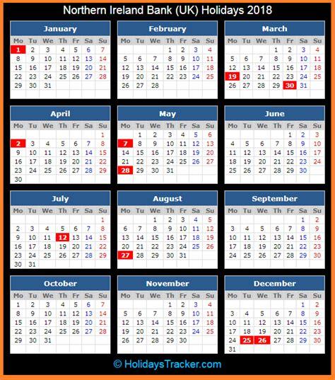 northern ireland bank uk holidays  holidays tracker