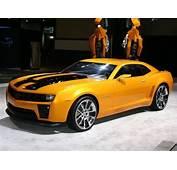 Dan A Concoer El Nuevo Camaro Para La Pel&237cula Transformers