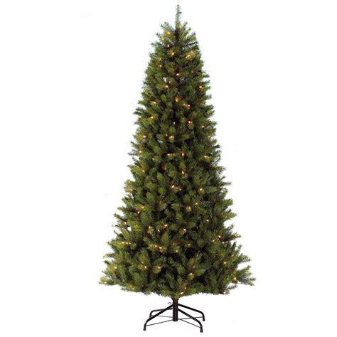 weight 65 kensington fir tree puleo slim kensington fir 6 5ft 1 95m pre lit artificial tree bosworths shop
