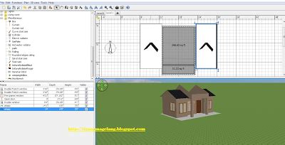 cara desain atap rumah dengan sweet home 3d dairy ku sweet home 3d desain atap rumah