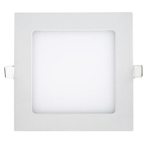 4 square led lights 6 quot square led recessed light led downlight w open trim