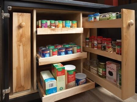 Storage Solutions For Kitchen Cabinets Storage Solutions Kitchen Cabinetry Other Metro By Wellborn Cabinet Inc