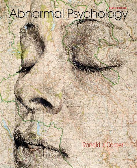 abnormal psychology books macmillan higher education abnormal psychology ninth