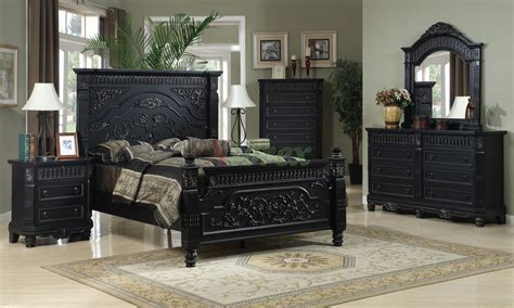 poster bedroom furniture set with leather headboard poster bedroom furniture set 125 xiorex