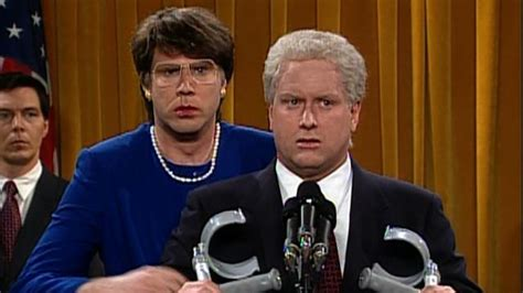 will ferrell janet reno watch janet reno talks tough at clinton press conference