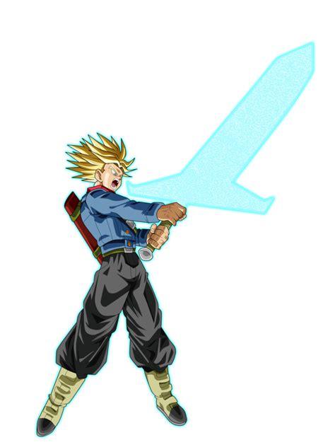 Trunks Saiyan mirai trunks saiyan rage sword of by z