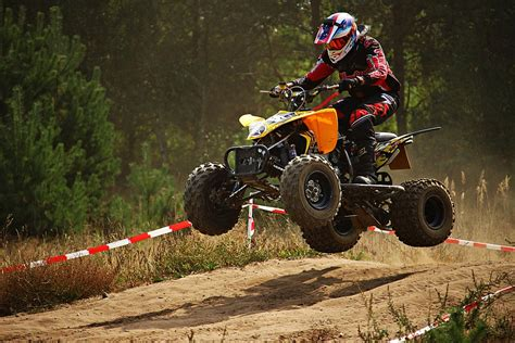motocross and atv atv jump 183 free photo on pixabay