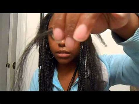 how long is it to get poetic justice braids quot poetic justice braids quot box braids tutorial youtube