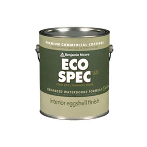 eco spec paint eco spec 174 wb interior latex paint usa benjamin moore