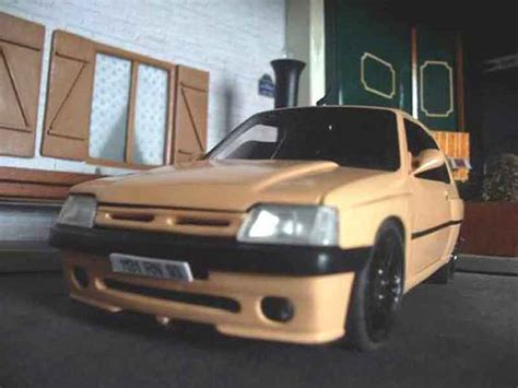 Auto Tuning 93 by Peugeot 205 Gti Auto Tuning 93 Abricot Solido Diecast