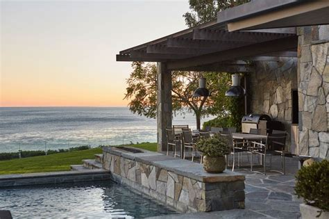 an airy connecticut poolhouse architectural digest 1000 ideas about beach entry pool on pinterest pools
